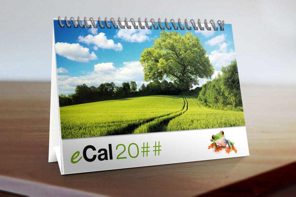 Calendario con immagini di paesaggi cartoncino di supporto personalizzato grafinvest - Calendario da tavolo con foto proprie ...