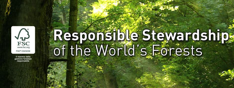 Certificazione FSC (Forest Stewardship Council) di Catena di Custodia (COC)