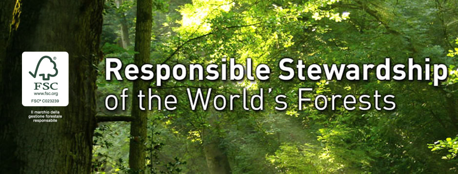 Certificazione FSC (Forest Stewardship Council) di Catena di Custodia (COC)