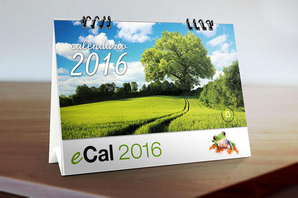 Calendari da tavolo con personalizzazione e profumazione