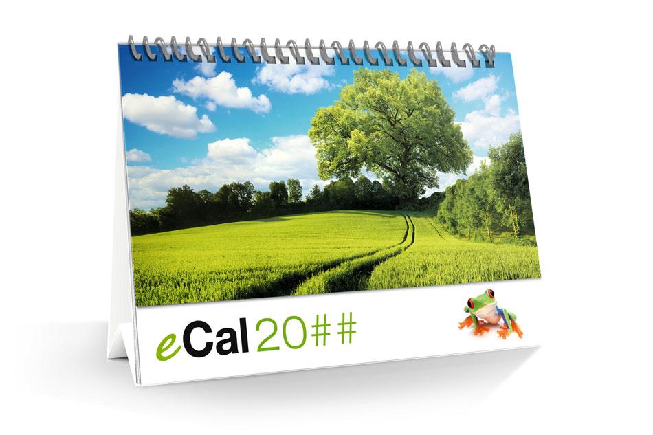 Calendario da tavolo con personalizzazione