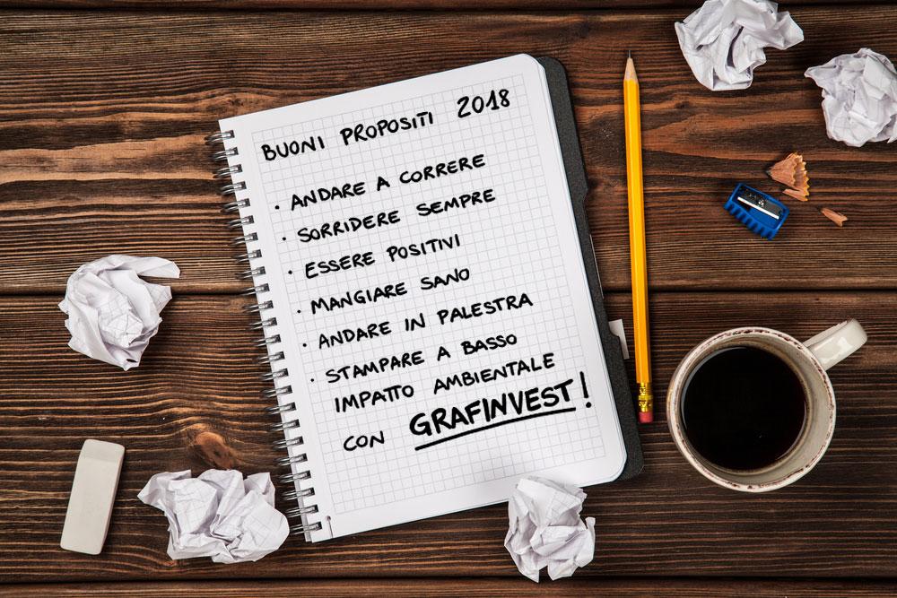 Il tuo Buon proposito per il 2018